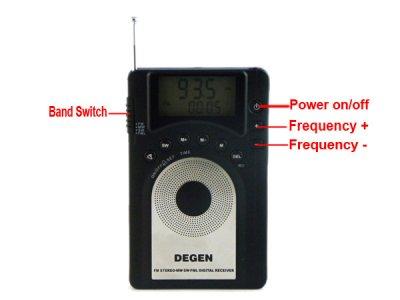 Радиоприемник Degen DE15