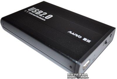 "Внешний карман Maiwo для HDD 3.5"" SATA USB 2.0 Black (K3502-U2S)"