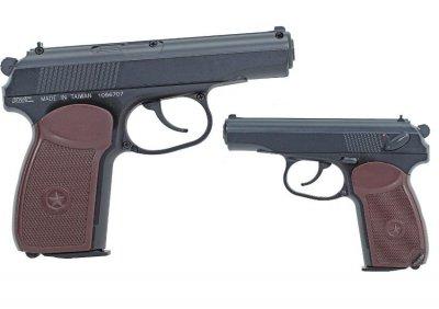 Пистолет пневматический KWC Makarov черный