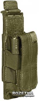 Подсумок тактический для пистолетного магазина 5.11 Tactical Pistol Bungee/Cover 56154 Tac OD (2000980325740)