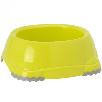 Пластикова миска для собак Moderna Smarty H104329 23 см 2.2 л лимонна (5412087000302)