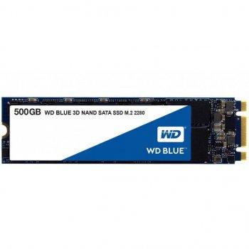Накопичувачі SSD WD SATA M. 2 Blue 500GB TLC (WDS500G2B0B)
