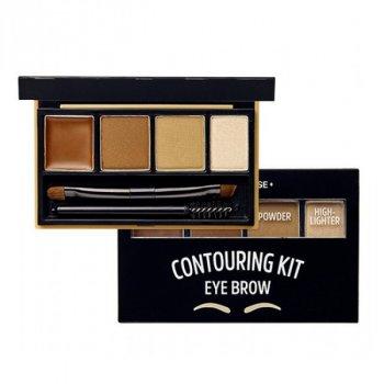 Набір для контуринга брів Etude House Brow Contouring Kit # 1 Natural Brown 3.8 р (8806199456541)