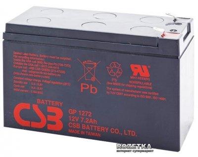 Аккумуляторная батарея CSB 12V 7.2Ah (GP1272F2)