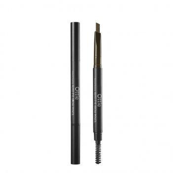 Олівець для брів Ottie Natural Drawing Eye Brow Pencil Відтінок 02 Dark Brown 1 шт (8809276011282)