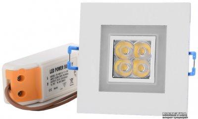Світлодіодний світильник Brille LED-103C/4W+2W RED 60' (L4-019)