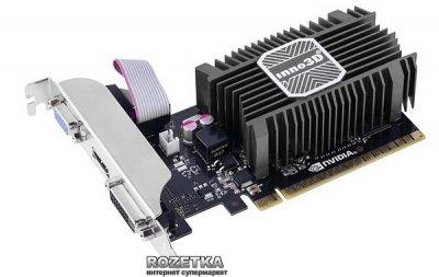 INNO3D PCI-Ex GeForce GT 730 LP 1024MB DDR3 (64bit) (902/1600) (DVI, VGA, HDMI) (N730-1SDV-D3BX)