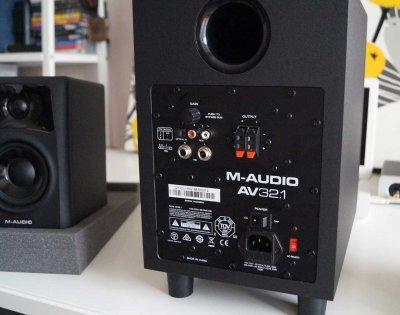 Комплект акустики M-Audio AV32.1 Black