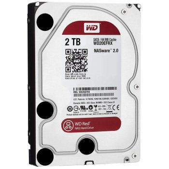 Wd 2Tb 5400-7200rpm 64Mb SATAIII Wd20EFRX