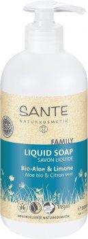 Жидкое БИО-мыло для рук и тела Sante Family Алоэ и Лимон 500 мл (4025089078937)
