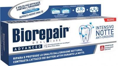 Зубная паста BioRepair Интенсивное ночное восстановление 75 мл (8017331064092)