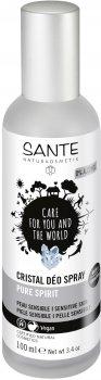 БИО-дезодорант-спрей для сверхчувствительной кожи Sante Crystal не ароматизированный 100 мл (4025089075707)