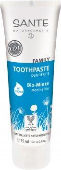 Зубная БИО-паста с фтором Sante Family Мята (для всей семьи) 75 мл (4025089076704)