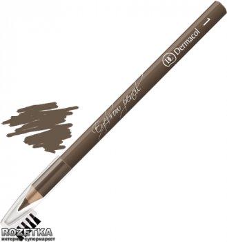 Олівець для брів Dermacol Eyebrow Pencil з щіточкою 1.6 г 01 Коричневий (85951655)