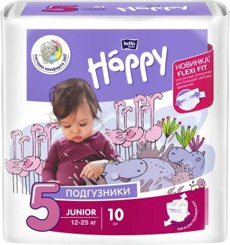 Підгузники дитячі Bella Baby Happy Junior 12-25 кг 10 шт (5900516600389)