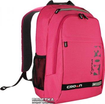 "Рюкзак для ноутбука Crown Vigorous 15.6"" Pink (BPV-315P)"