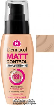 Матирующий тональный крем Dermacol 18h Matt Control 30 мл 04-18h Matt Control (85952096)