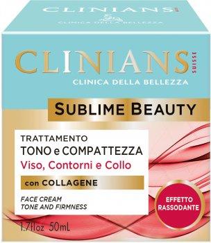 Крем для лица Clinians Sublime Beauty тонизирующий, формирующий и иллюминирующий 50 мл (8003510016372)