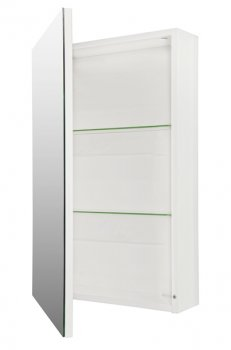 Зеркальный шкаф FANCY MARBLE ШЗ-450 (белый)