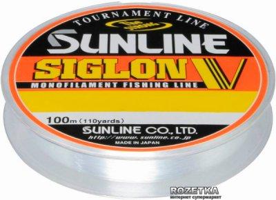 Леска Sunline Siglon V 100 м #0.4/0.104 мм 1 кг (16580495)
