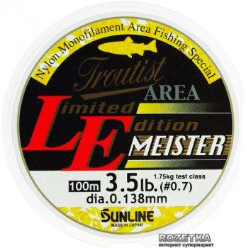 Леска Sunline Troutist Area LE Meister 100 м #0.7/0.138 мм 1.75 кг (16580563)