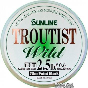 Леска Sunline Troutist Wild 150 м #0.6/0.128 мм 1.25 кг (16584415)