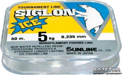 Леска Sunline Siglon Ice 50 м #2.0/0.235 мм 5 кг (16580318)