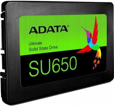 """Накопичувач SSD 2.5"""" 240GB ADATA (ASU650SS-240GT-R)"""