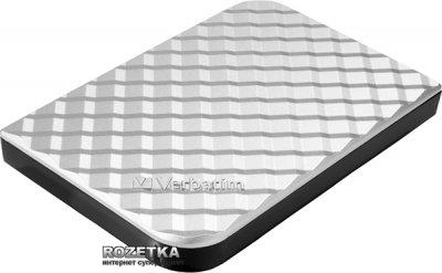 Жорсткий диск Verbatim Store n Go 1ТВ 5400rpm 8МВ 53197 2.5 USB 3.0 External Silver