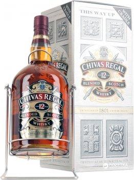 Віскі Chivas Regal 12 років витримки 4.5 л 40% (080 432 403 518)