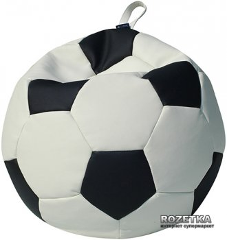 Пуф-мяч Примтекс Плюс Fan H-2200/D-5 XS White-Black
