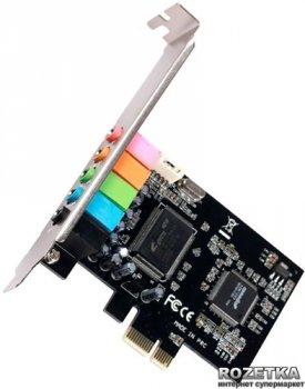 Звукова карта Manli C-Media 8738 PCI-E (5.1) (M-CMI8738-PCI-E)