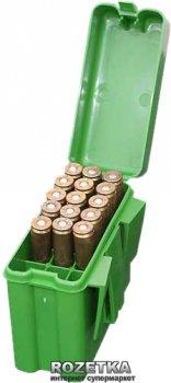 Коробка МТМ R-20 для патронiв 222 Rem - 222 Mag 20 шт. Зелений (17730625)