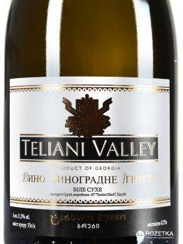 Вино игристое Teliani Valley белое сухое 0.75 л 11.5% (4860065013195)