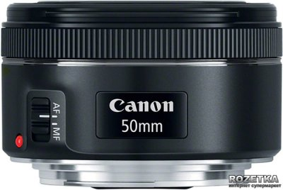 Canon EF 50mm f/1.8 STM (0570C005) Официальная гарантия!