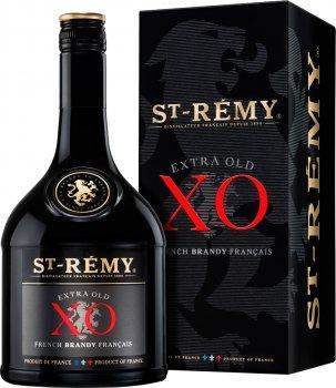 Бренди TM Saint Remy XO 0.7 л 40% в подарочной упаковке (3161420002467)