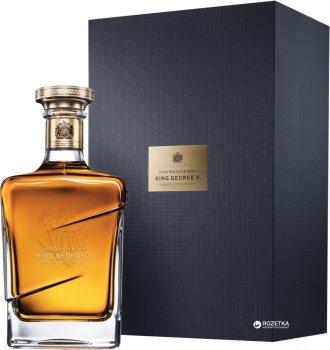 Виски Johnnie Walker Blue label King George V выдержка 25 лет 0.75 л 43% в подарочной упаковке (5000267106151)