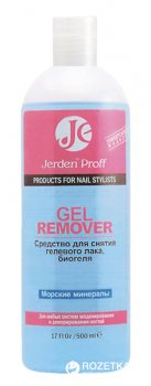 Засіб для зняття гель-лаку Jerden Proff Gel Remover Морські мінерали 500 мл (4823085609519)