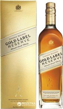 Виски Johnnie Walker Gold Reserve от 12 лет выдержки 0.7 л 40% в подарочной упаковке (5000267117560)