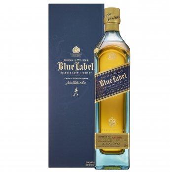 Виски Johnnie Walker Blue label выдержка 25 лет 0.75 л 40% в подарочной упаковке (5000267114279)