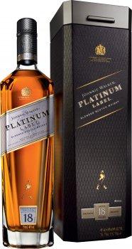 Виски Johnnie Walker Platinum Label 18 лет выдержки 0.7 л 40% в подарочной упаковке (5000267117454)