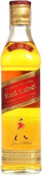 Виски Johnnie Walker Red label выдержка 4 года 0.35 л 40% (5000267014807)