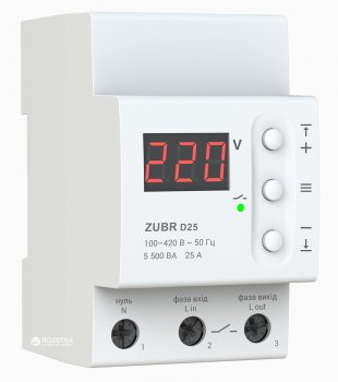 Реле напруги ZUBR D25