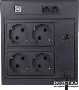 Джерело безперебійного живлення Powercom RPT-1025AP Schuko