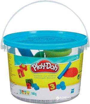Набор пластилина Hasbro Play-Doh Мини ведерко Цифры (23414_23326)