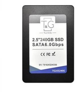 """Накопичувач SSD T&G, SATA3, 2.5"""", 240Gb,3D TLC, 500/450 МБ/s"""