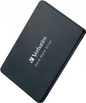 """Накопичувач SSD Verbatim Vi500 S3, SATA3, 2.5"""",120Gb, 3D TLC, 485/375 MB/s"""