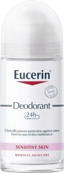 Антиперспирант роликовый Eucerin 24 часа защиты для гиперчувствительной и склонной к аллергическим реакциям кожи 50 мл (4005800027598)