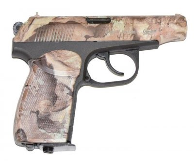 Пневматичний пістолет Байкал МР-654К (камуфляж)