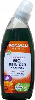 Органічний очищуючий гель для туалету Sodasan 0.75 л (4019886020701)